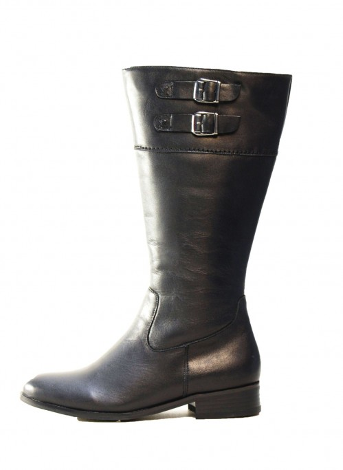 Bennets Boots Wide Calf Boots in Jude Black