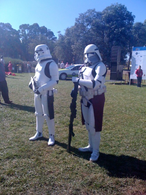 Mothers Day Classic 2010 - Storm Troopers